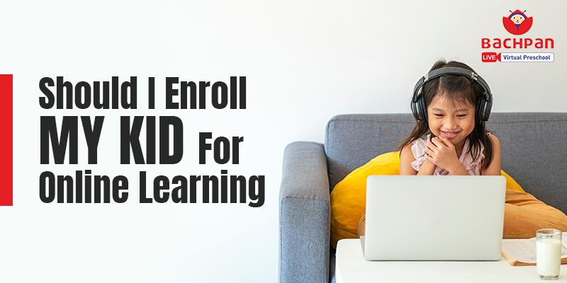 online learning for kindergarten